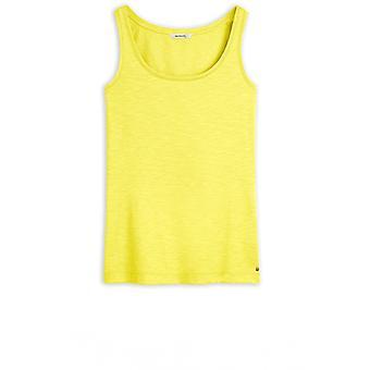 Sandwich kleding warme olijf jersey vest top