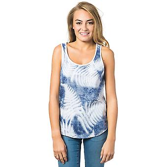 Rip Curl Santa Tank camiseta sin mangas en profundidades azules