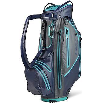 Sun Mountain H2NO Elite Cart Trolley Golf Bag Marine / Pistolet / Sarcelle