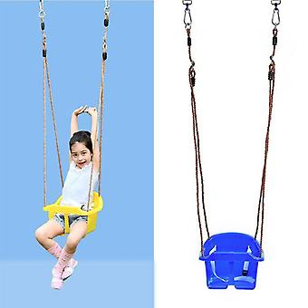 Rope Swing Seat With Rope & Mounting Rings Plastic Swing