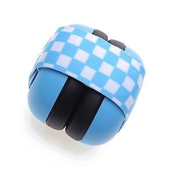 Reizen slapen elastische band oorbeschermer, geluiddichte hoofdtelefoon