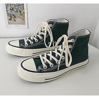 Höst canvas skor