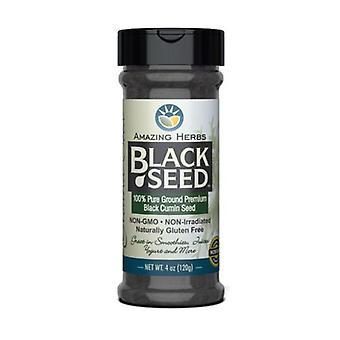 Amazing Herbs Black Cumin Seed Ground, 4 oz