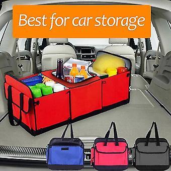 Auto Lagerung Organizer Kofferraum Zusammenklappbares Spielzeug Lebensmittel Lagerung LKW Fracht Container Taschen Box Schwarzes Auto