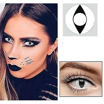 uusi 2 1pair =2kpl cosplay kaunis iso pupillinssi silmän Halloween väri yhteystiedot sm48061