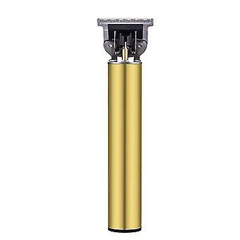 מקצועי אלחוטי גברים שיער קליפרס מכונת גילוח גוזרים (זהב)