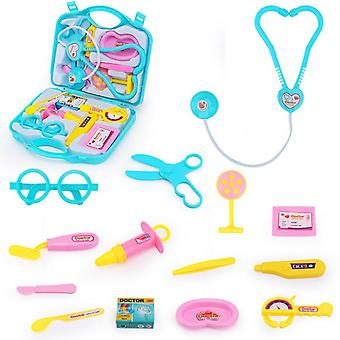 Doctor Kit For Kids, Pretend Medical Doctor Medical Playset With Electronic Stethoscope