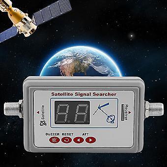 Gsf-9507 Ekran LED Dispaly Satellite Finder Uniwersalny program do znajdownik sygnału telewizyjnego