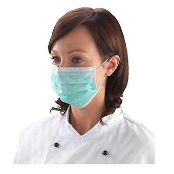 Microblading Disposable Single Use Hygiene Face Mask | SPMU Permanent Makeup - 100 / gb