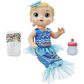Baby Wassernixe, Puppe zum Baden, ca 30 cm groß, blondhaarig