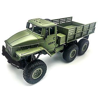 1:16 מהירות גבוהה RC מכונית צבאית משאית מהכביש דגם צעצוע עבור ילדים יום הולדת מתנה| משאיות RC (ירוק)