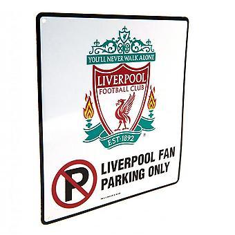 Liverpool FC geen parkeergelegenheid ondertekenen