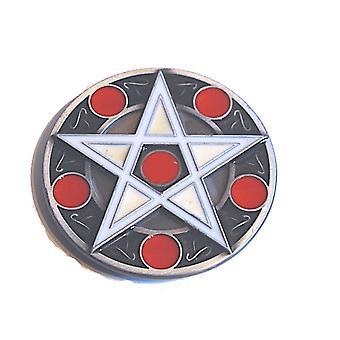 Boucle de ceinture - Pentagram