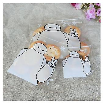 Cute Cookie Packaging Self-adhesive Bag
