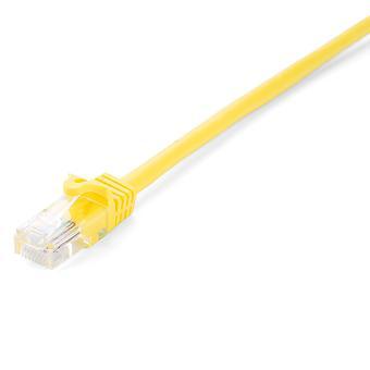 UTP Categorie 6 Rigid Network Cable V7 V7CAT6UTP-05M-YLW-1E 5 m