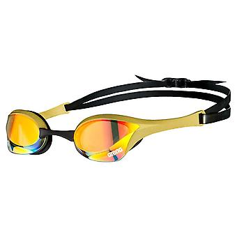 Arena Cobra Swipe Ultra Mirror Swimming Goggles Advanced Anti Fog Lense - Yellow