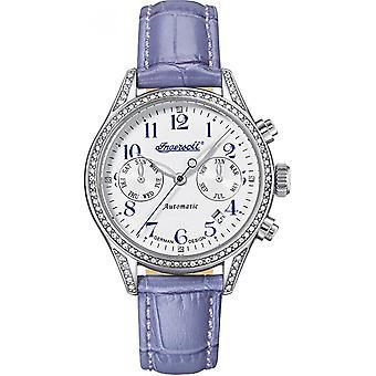 Ingersoll Purple Genuine Leather IN7401SWH Women's Watch