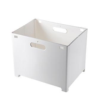 Foldable Plastic Wall-mounted Laundry Basket, Dirty Clothes Storage Basket, Sundries Storage Box