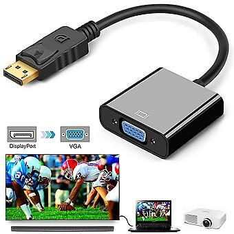 Display Port Display To Vga Adapter Converter 1080p Big Dp To Vga Adapter Cable