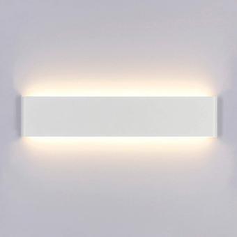 Led Lumière murale intérieure 14w 3000k Moderne Ac 220v Blanc chaud Acrylique Lampe murale 40cm