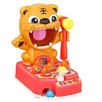 Tiger-Spiel, geeignet für die Begleitung von Kindern interagieren, Puzzle-Spielzeug klopfen