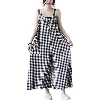 Woman Plus Size Overalls Loose Overalls