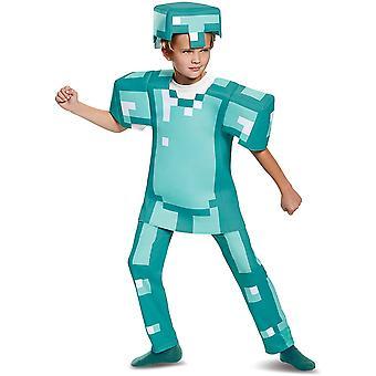 Gemdeck Verzauberte Diamant Rüstung Outfit für Kinder, Kostüm Halloween