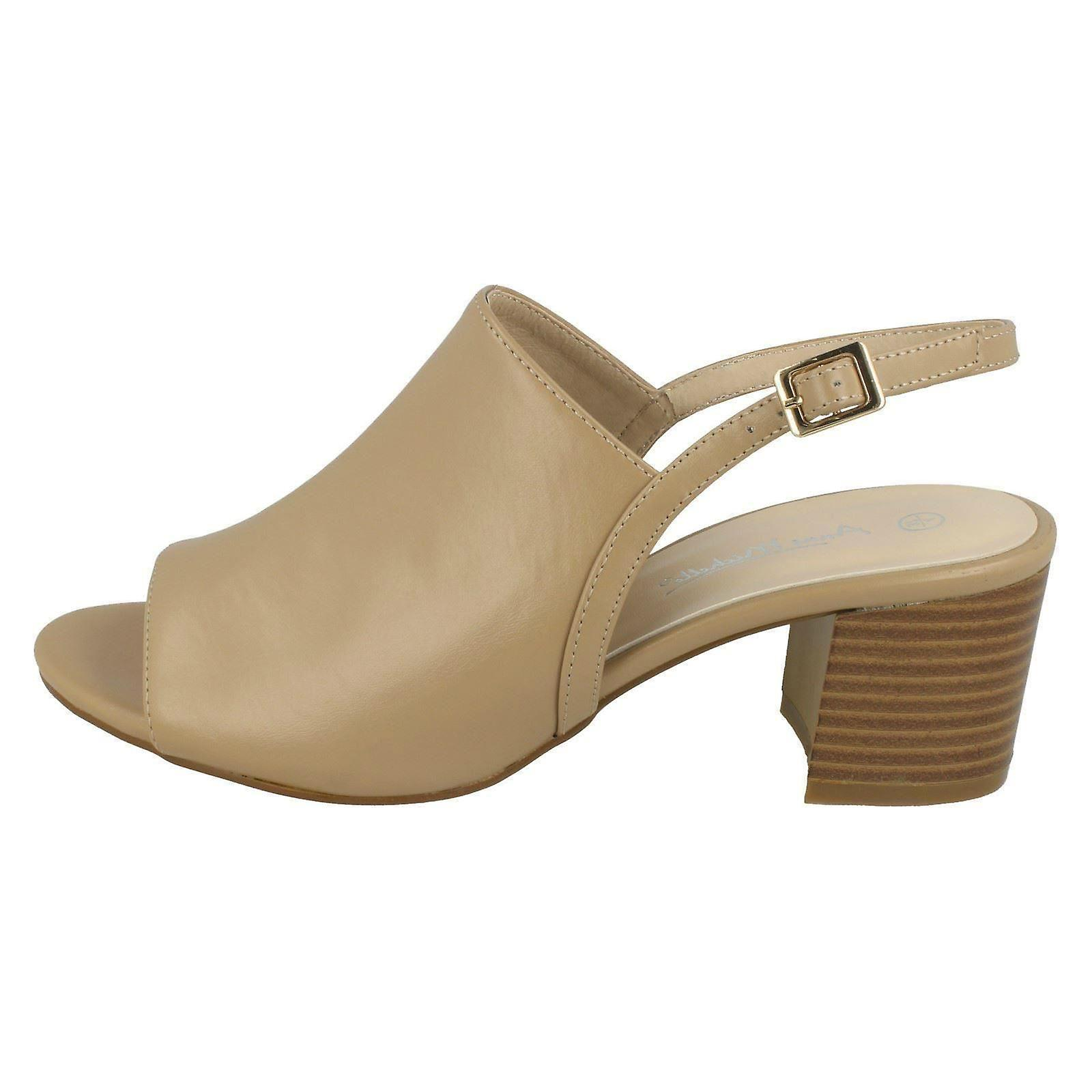 Ladies Anne Michelle Mid Heel Mules F10733