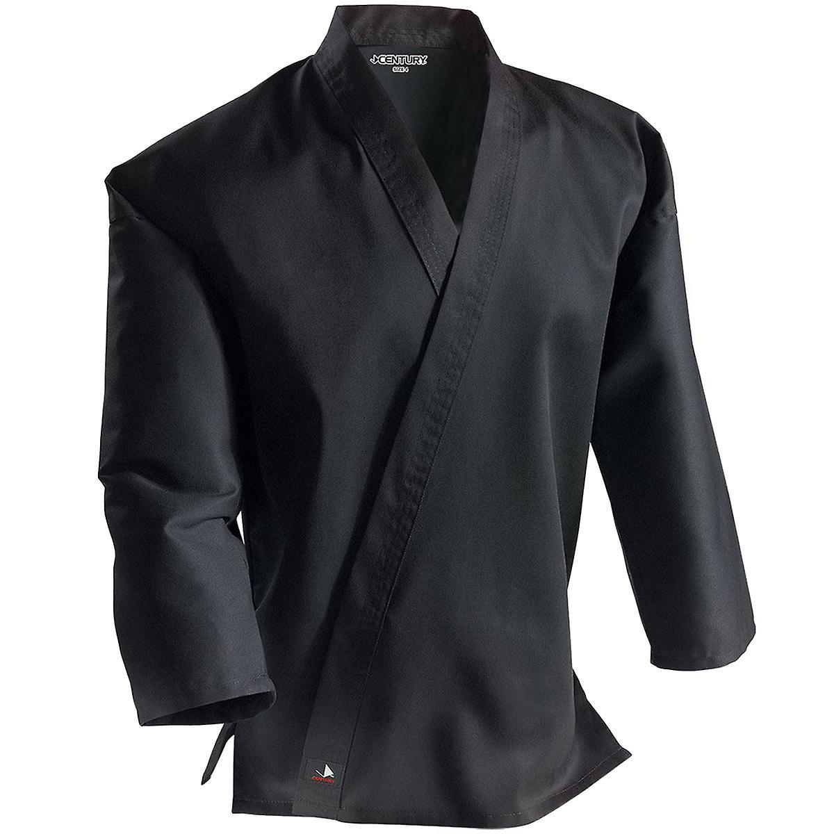 Talet Kid's 6 oz. lätta Student Uniform w / elastisk byxor - svart - kimono