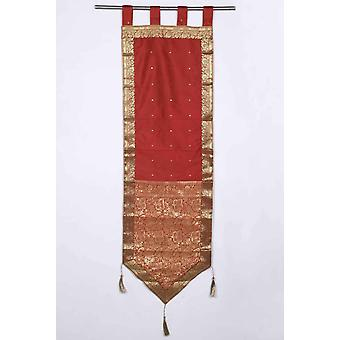 Rust - Handmade Wall hanging Wall decor Tapestry  with Tassels