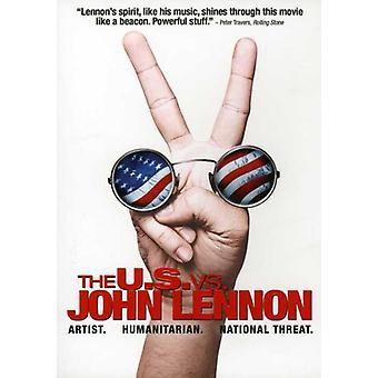 Lennon/Ono - U.S. vs John Lennon [DVD] USA import