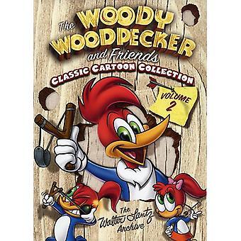 Woody Woodpecker & Friends Classic Cartoon Collectvol. 2 [DVD] USA import