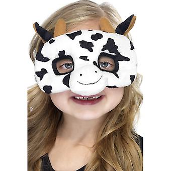 Cow mask children animal mask cow mask eye mask plush children costume