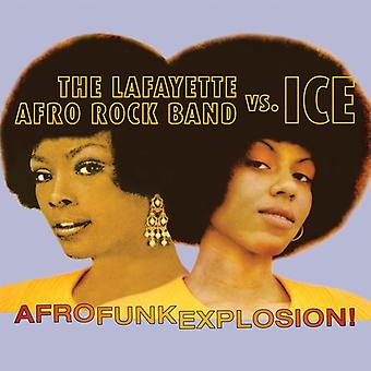 Lafayette Afro Rock Band vs Ice - Afro Funk Explosion! [CD] USA import