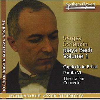 Schepkin - Bach Piano- Vol.1: Italian Concerto Cap [CD] USA import