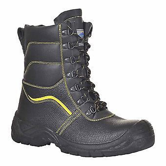 Portwest - Steelite päls fodrad Protector arbetskläder Ankle Boot S3 CI