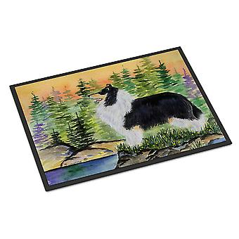 Carolines Treasures  SS8203MAT Collie Indoor or Outdoor Mat 18x27 Doormat