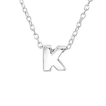 «k» - 925 стерлингового серебра Обычная ожерелья - W24303x