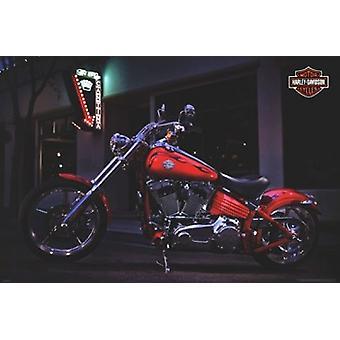 Harley Davidson - Rocker affisch affisch Skriv