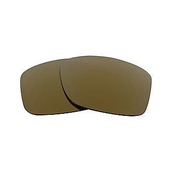 Polarized Replacement Lenses for Oakley Jupiter Carbon Frame Gold Anti-Scratch Anti-Glare UV400 by SeekOptics