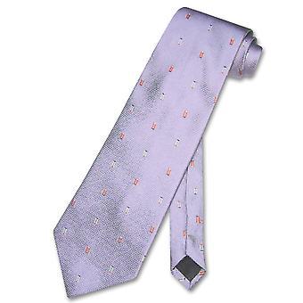100% SILK NeckTie Rectangles Men's Neck Tie