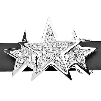 Iced bling correa - plata TRIPLE STAR