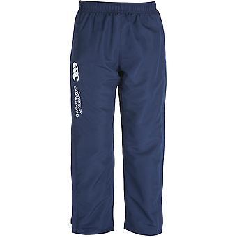Canterbury Boys CCC Logo Open Hem Stadium Tracksuit Pants / Bottoms