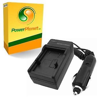 PowerPlanet Konica Minolta NP-1 schnell 1-2 Std. Reisen (UK Netz/Auto) Akkuladegerät für Konica Minolta DiMAGE X1