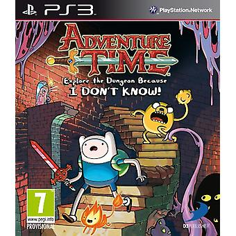 Adventure Time Explore the Dungeon Because I Don't know (PS3) - Nouveau