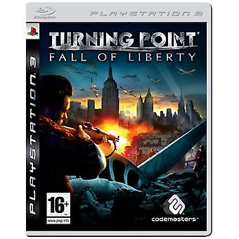 Turning Point Fall Of Liberty (PS3) - Nouveau