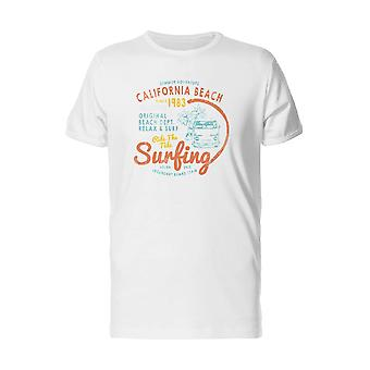 California Beach 1983 Surfing Tee Men's -Image by Shutterstock