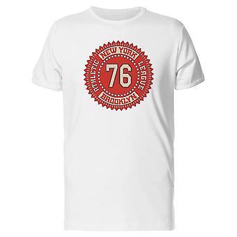 New York 76 Athletic T-Shirt Herren-Bild von Shutterstock