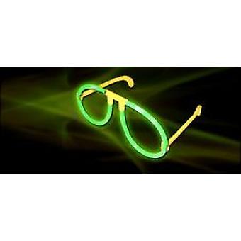 Resplandor en gafas oscuras