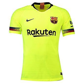2018-2019 برشلونة بخار مباراة قميص نايكي بعيداً